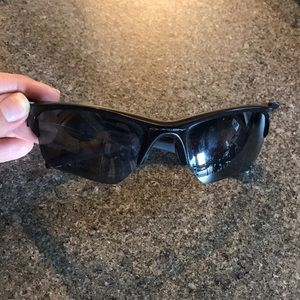 Men's Oakley half jacket 2.0 polarized sunglasses